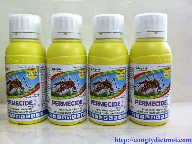 Thuốc diệt muỗi, diệt côn trùng Permecide 50EC