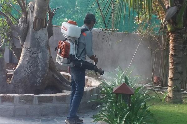 Phun thuốc diệt muỗi tận gốc quận Nam Từ Liêm