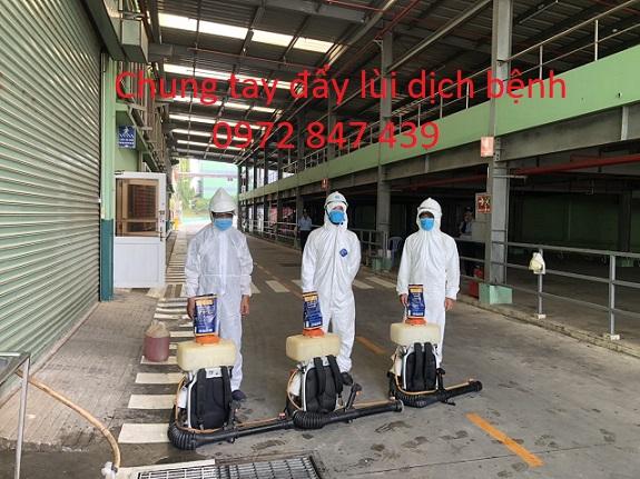 Phun khử khuẩn cho các nhà máy, xí nghiệp