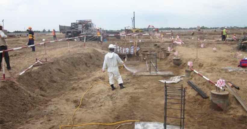 chống mối công trình tại Kiên Giang